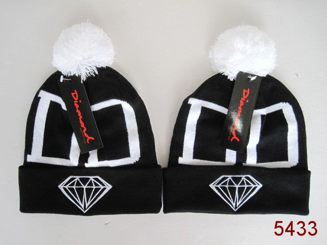 Diamond Beanie Black SG