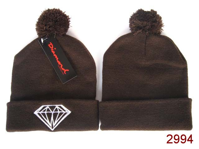 Diamond Beanie Brown SG