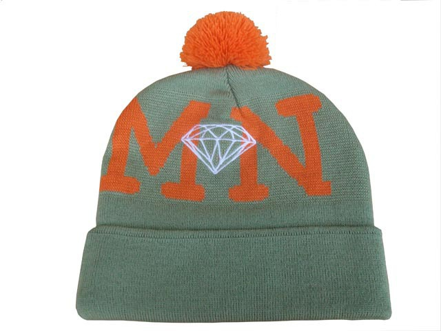 Diamond Beanie Grey DF