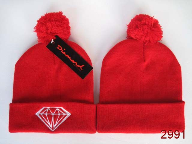 Diamond Beanie Red 1 SG