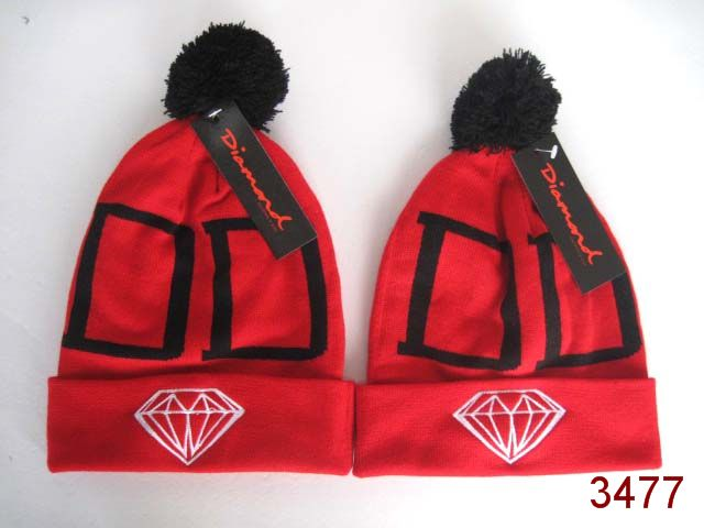 Diamond Beanie Red SG
