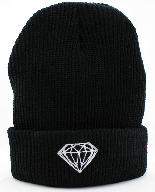 Diamond Black Beanie JT