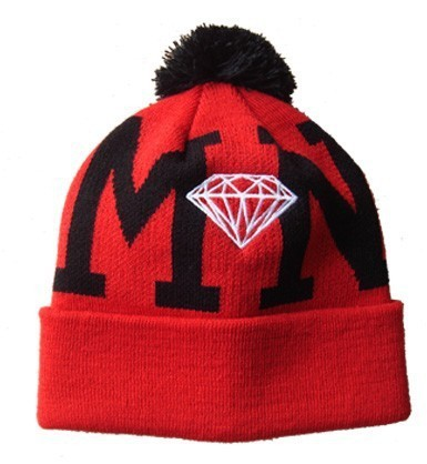 Diamond Red Beanie SD