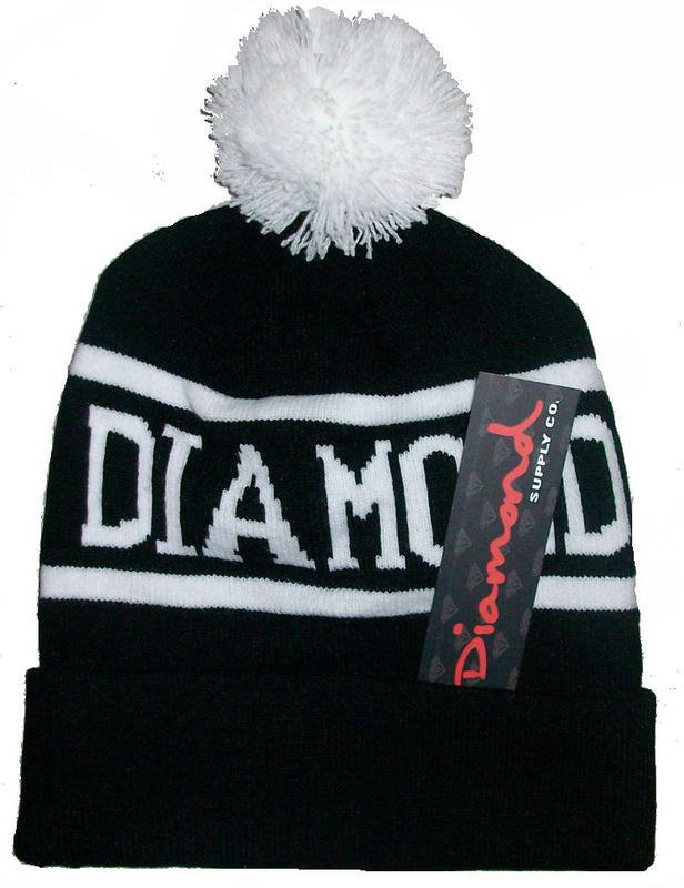 Diamond Supply CO Beanie Black 1 JT