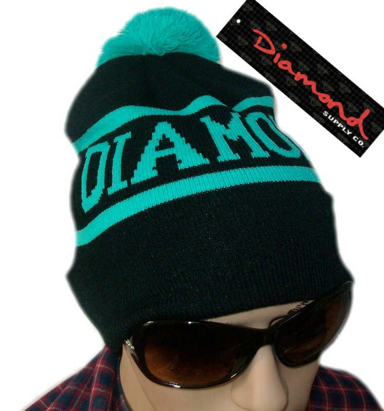 Diamond Supply CO Beanie Black JT