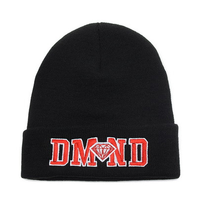 Diamond Supply Co Beanie Black XDF