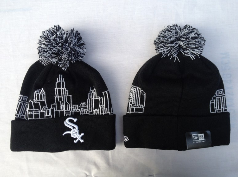 Chicago White Sox Black Beanie SF 1