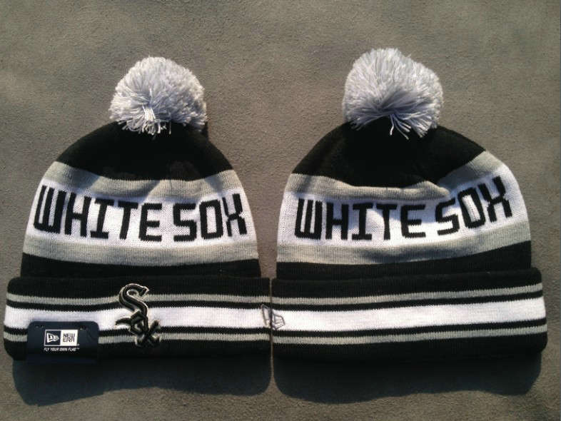 MLB Chicago White Sox Black Beanie SF