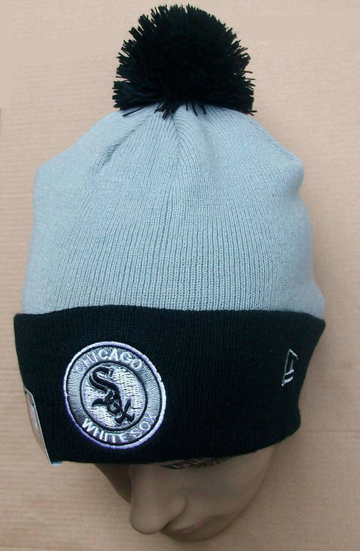 MLB Chicago White Sox Grey Beanie JT