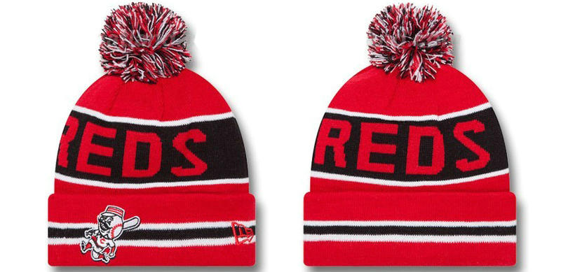 MLB Cincinnati Reds Beanie Red DF