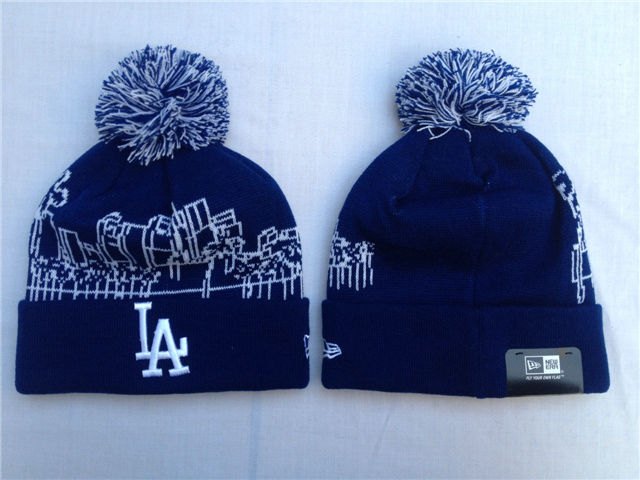 MLB Los Angeles Dodgers Navy Beanie SF
