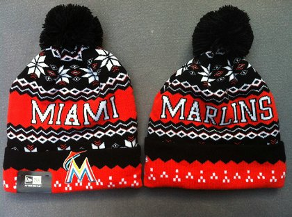 MLB Miami Marlins Beanie gf