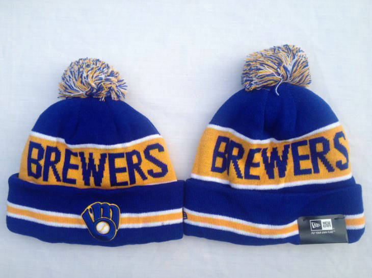 MLB Milwaukee Brewers Blue Beanie SF