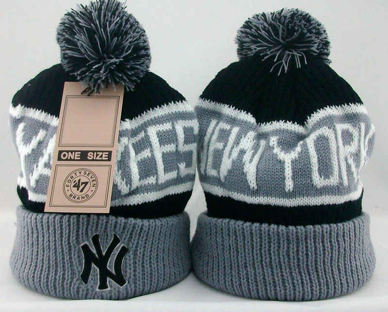 MLB New York Yankees Beanie 1 JT