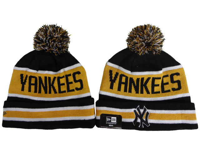 MLB New York Yankees Beanie Black 1 DF