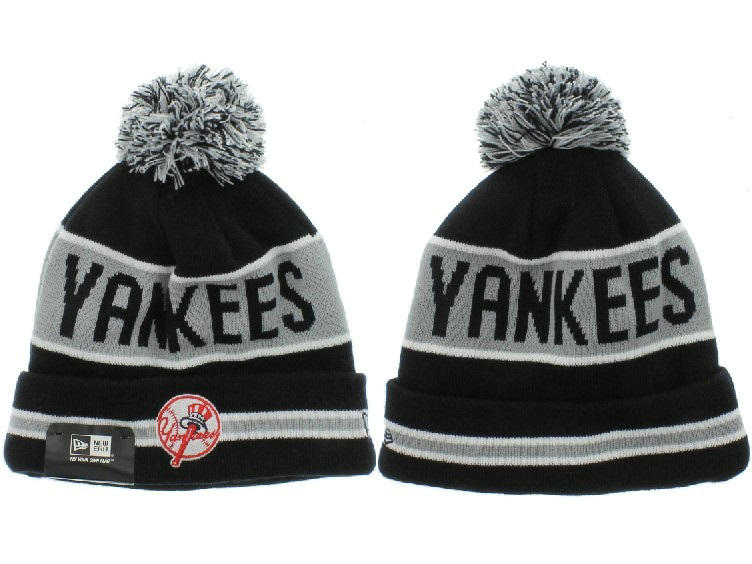 MLB New York Yankees Black Beanie XDF
