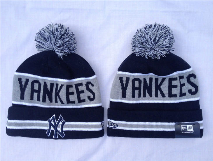 MLB New York Yankees Navy Beanie SF
