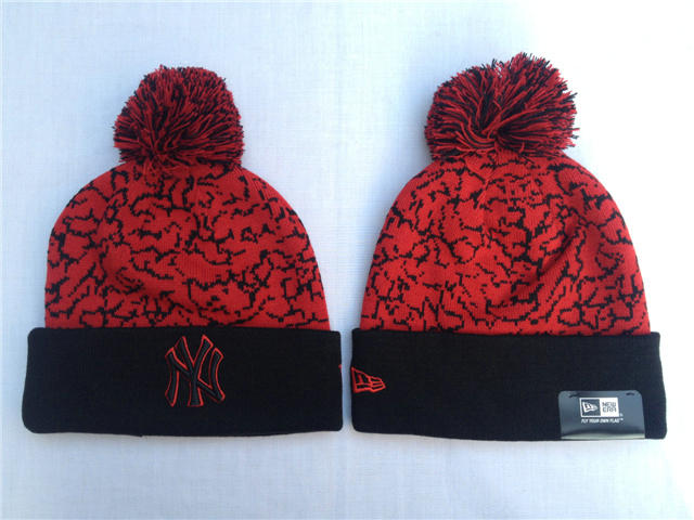 MLB New York Yankees Red Beanie SF