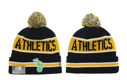 Oakland Athletics New Type Beanie SD 4d05