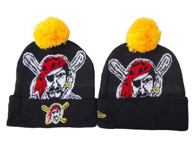MLB Pittsburgh Pirates Beanie Black DF