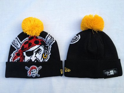 MLB Pittsburgh Pirates Beanie Black SF