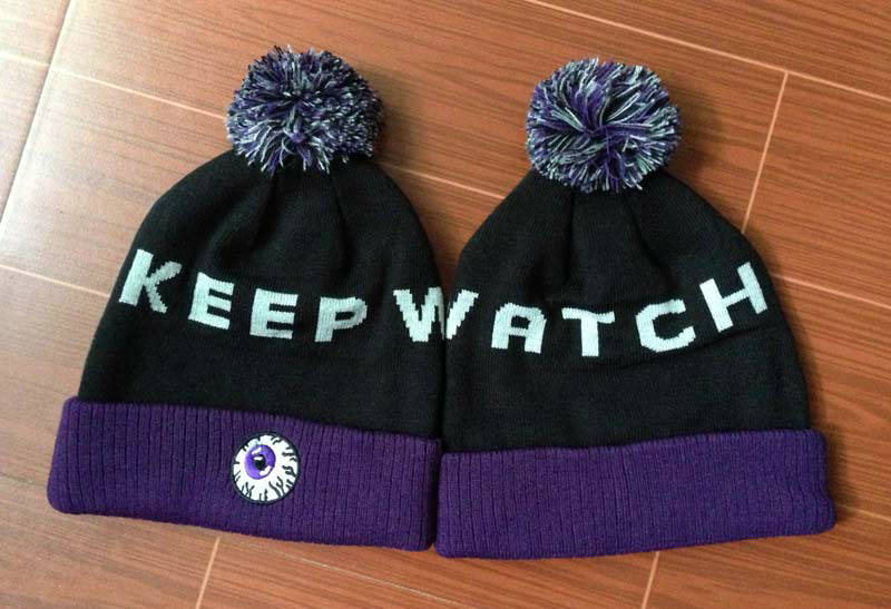 Mishka Keep Watch Black Beanie GF