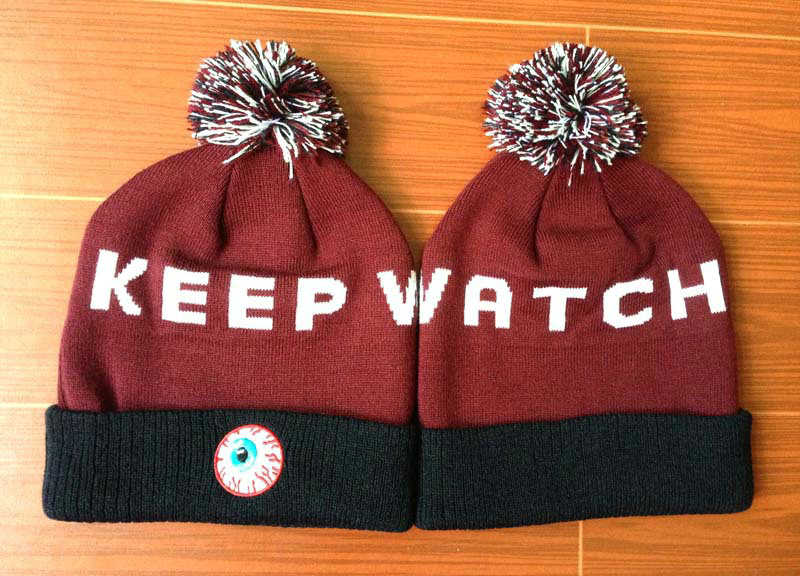 Mishka Keep Watch Red Beanie GF