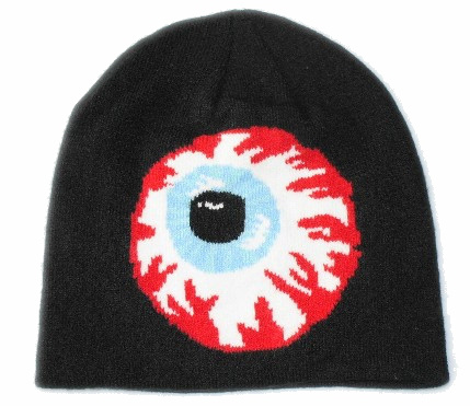 Mishka Keep Watch Black Beanie JT