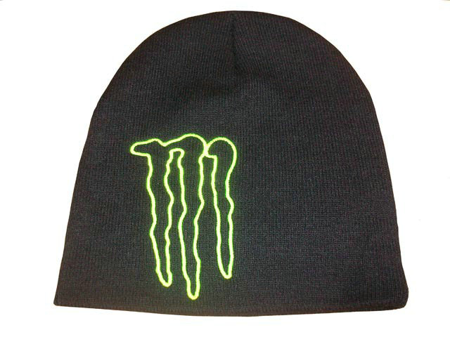 Monster Energy Beanie Black 3 DF