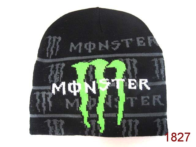 Monster Energy Beanie Black 3 SG