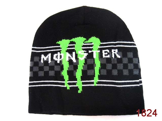 Monster Energy Beanie Black 4 SG