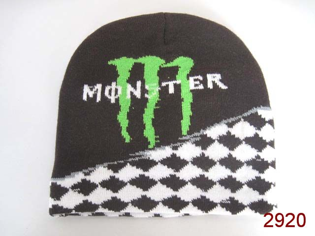 Monster Energy Beanie Black SG