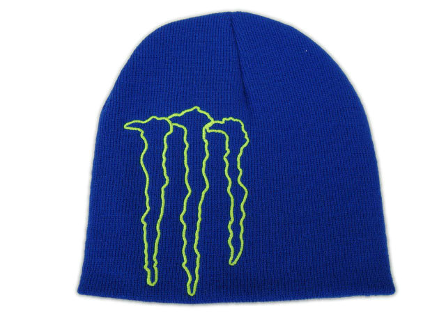 Monster Energy Beanie Blue 1 DF
