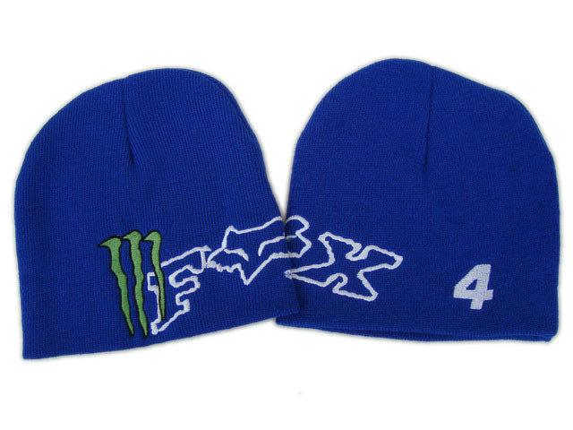 Monster Energy Beanie Blue 2 DF