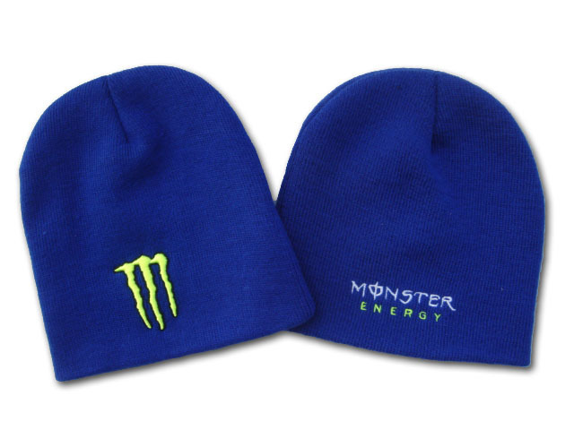 Monster Energy Beanie Blue DF