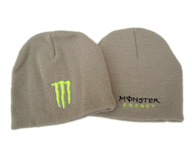 Monster Energy Beanie Grey 1 DF