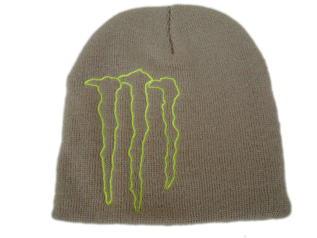 Monster Energy Beanie Grey 2 DF
