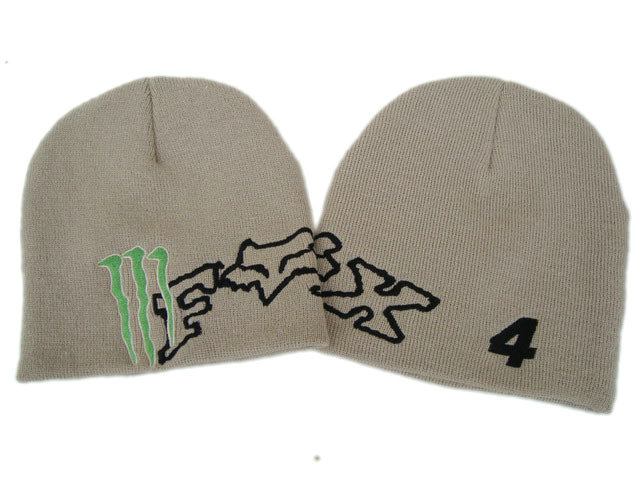 Monster Energy Beanie Grey 3 DF