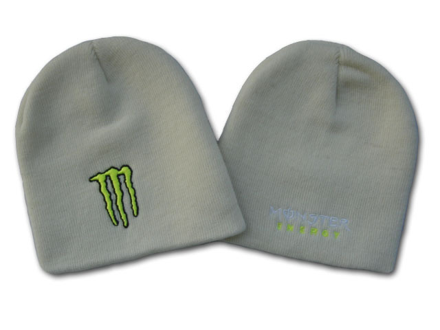 Monster Energy Beanie Grey DF