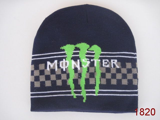 Monster Energy Beanie Navy 4 SG
