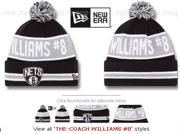 Brooklyn Nets Beanies 60D 150229 5
