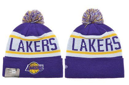 Los Angeles Lakers Beanies DF 150306 1