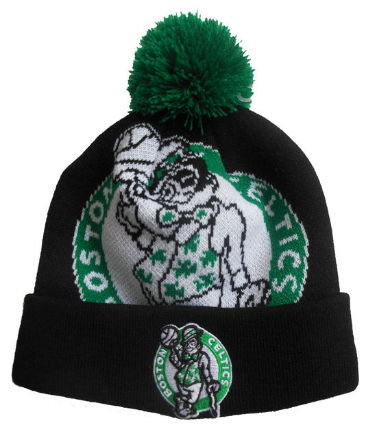 NBA Boston Celtics Beanie Black SJ