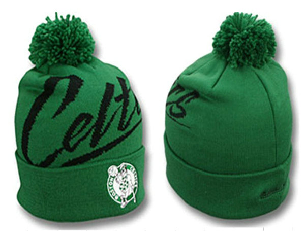 NBA Boston Celtics Beanie Green SJ