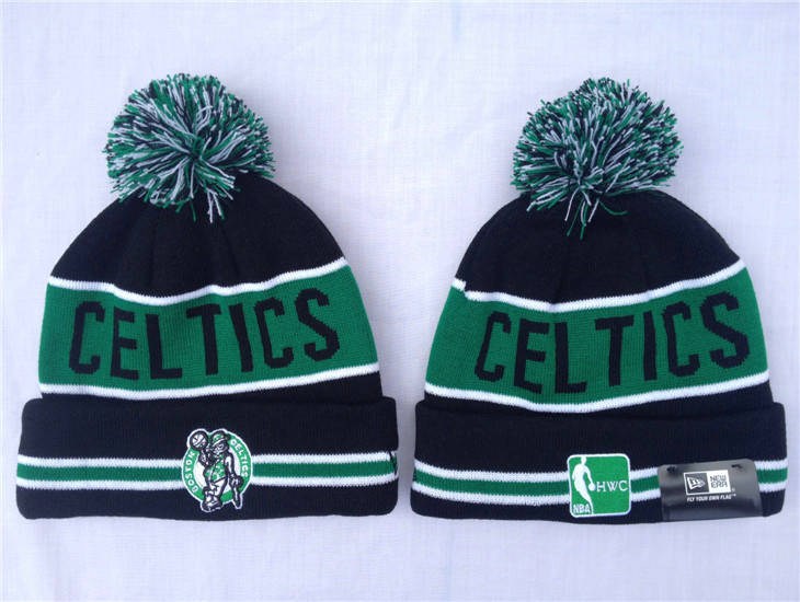 NBA Boston Celtics Black Beanie 1 SF