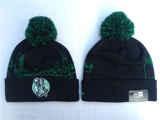 NBA Boston Celtics Black Beanie SF