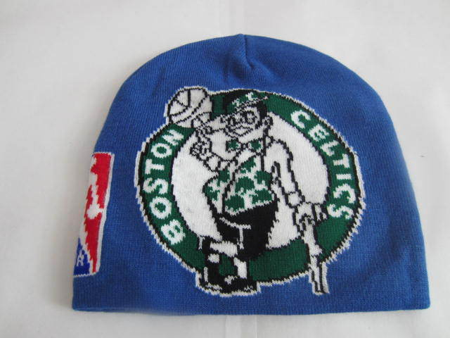 NBA Boston Celtics Blue Beanie LX