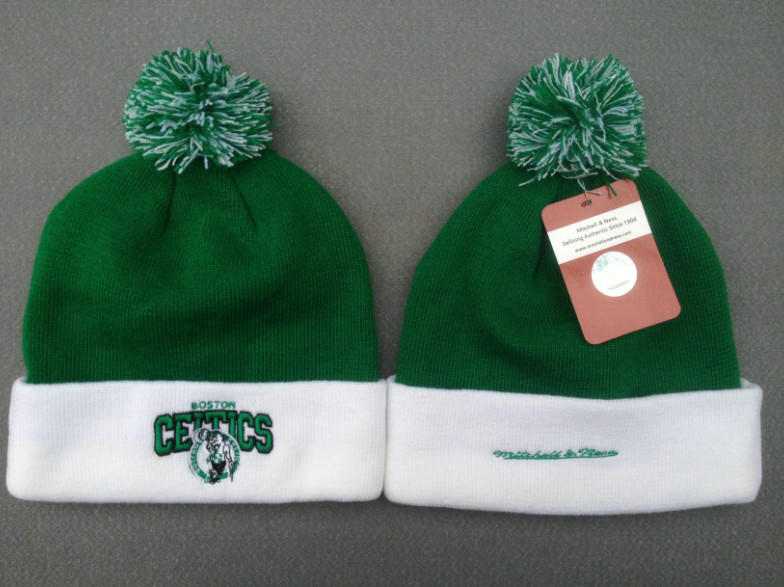 NBA Boston Celtics Green Beanie 1 SF