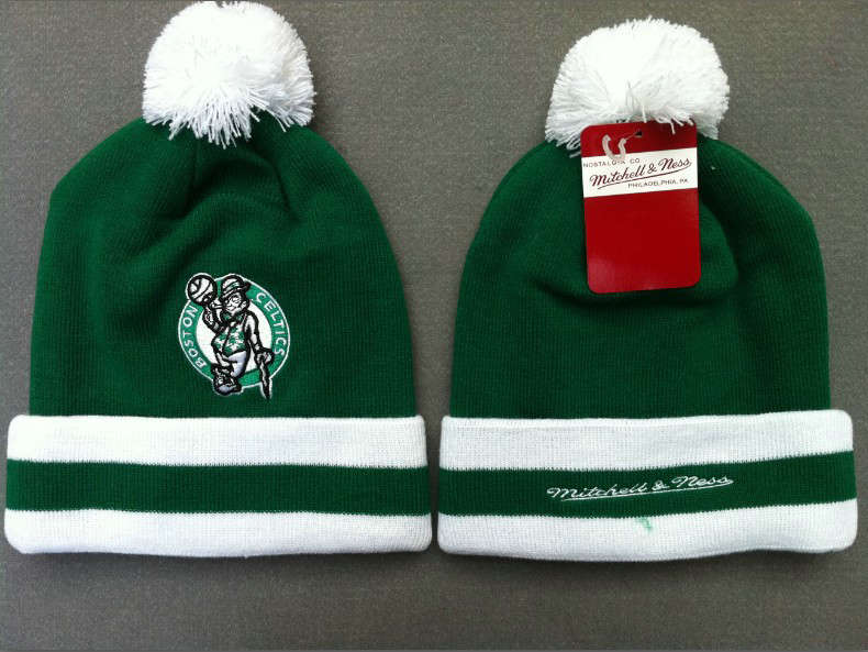 NBA Boston Celtics Green Beanie SF