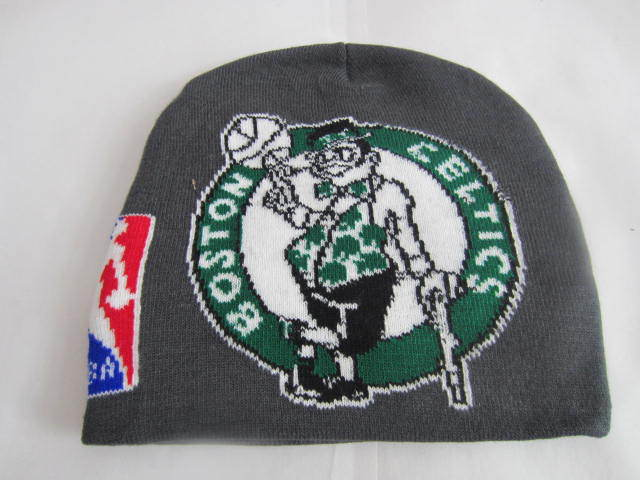 NBA Boston Celtics Grey Beanie LX